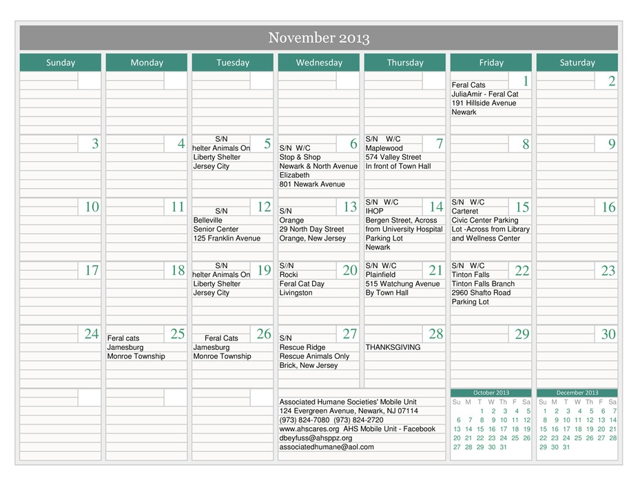 Mobile Calendar -November 2013-page-0
